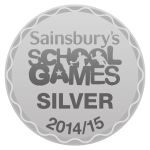 School Games Silver Award logo 2014 15